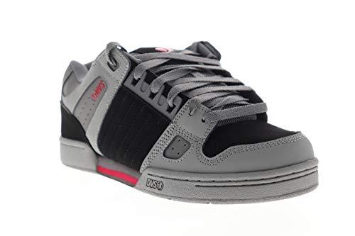 DVS Herren Celsius Skate Schuh, Schwarz (Anthrazit/Schwarz/Rot), 42 EU