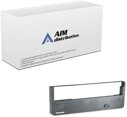AIM Compatible Replacement for TallyGenicom T6212/6215/6218 Black Printer Ribbons (4/PK) (082725) - Generic