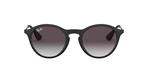 Ray-Ban Unisex RB4243 Sonnenbrille, Schwarz (Gestell: schwarz, Gläser: grau verlauf dunkelgrau 622/8G), Medium (Herstellergröße: 49)