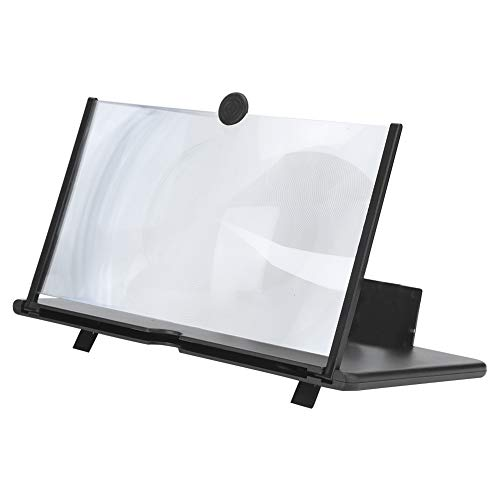 Pinsofy Universal Anti‑Slip HD Mobile Phone Magnifier, Foldable 12in Screen Enlarger for Movies...