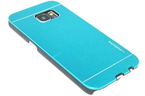 Adel Aluminium Plastica Hardcase Custodia Cellulare Compatibile con Samsung Galaxy S7 - HellBlu