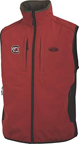 Sale!! Drake South Carolina Windproof Tech Vest Garnet LG & Knit Cap Bundle