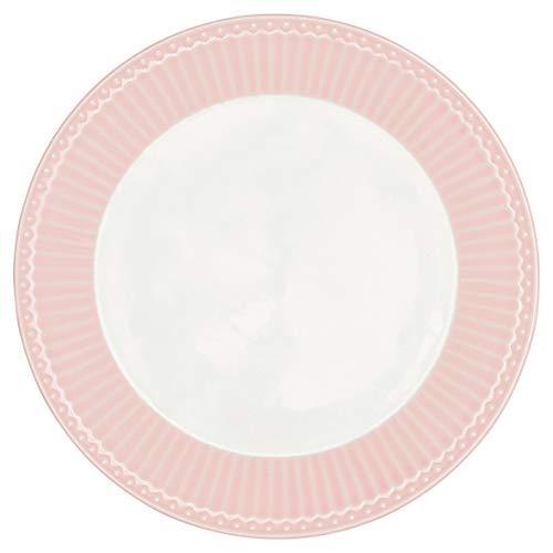 GreenGate Teller Alice Rosa 23 cm Kuchenteller Everyday Geschirr Pale PINK
