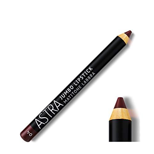 Astra Rouge à lèvres Astra Jumbo Lipstick Full Color 04 Plum - 1 pièce