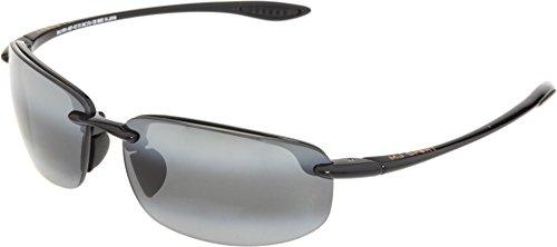 Maui Jim Ho'Okipa MauiReader® G807 02 Correction +2,00 Noir brillant Verres gris polarisés et miroirs