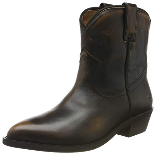 Buffalo Damen FAM Cowboystiefel, Braun (Dark Brown 001), 39 EU