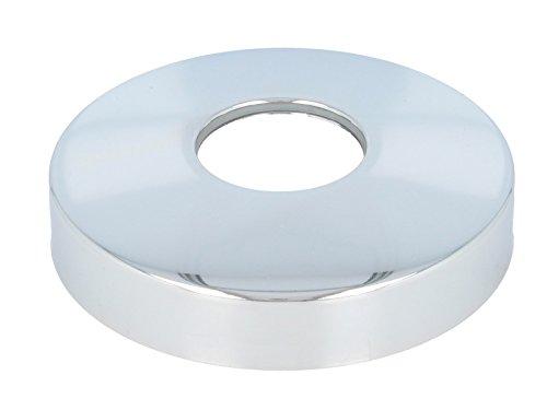 tecuro Siphonrosette Innen-Ø 32 mm x Aussen-Ø 90 mm x Höhe 20 mm, messing verchromt