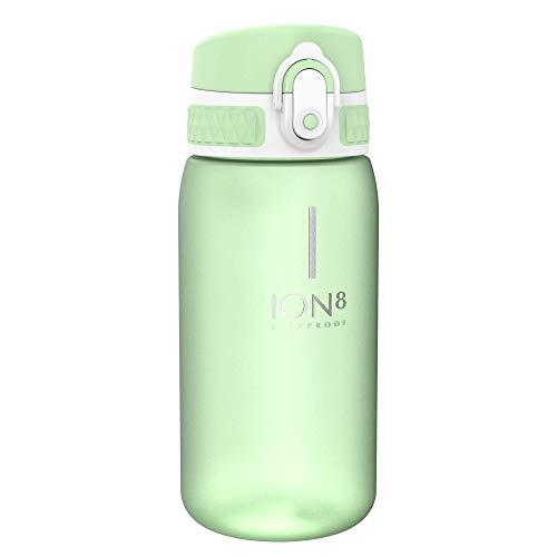 Ion8 Auslaufsichere Kinder Trinkflasche, BPA-frei, Seeschaum