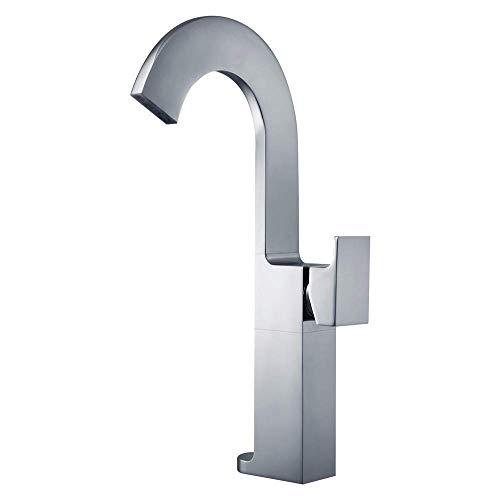 Badkameruitrusting/koperen hete en koude hoogte-basine wastafelkraan boven tegenbassin waterval