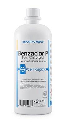 Benzaclor P - Desinfectante a base de cloruro de benzalconio, 100 ml, listo para usar.