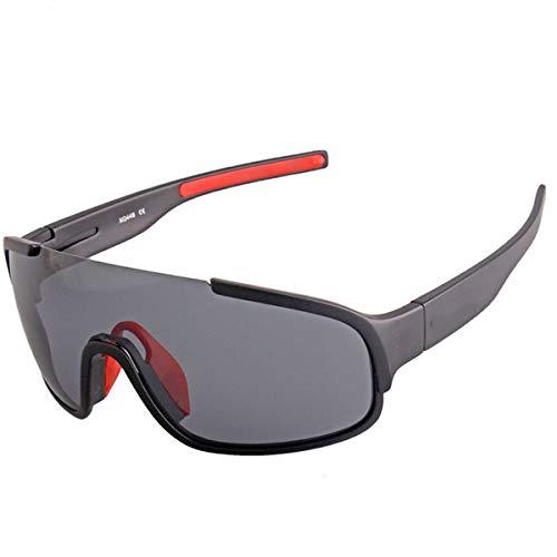ZHYE Gafas De Ciclismo, Gafas para Bicicleta Montaña De Protección UV, Las Lentes Polarizadas Protegen Sus Anteojos, Son Transparentes y Naturales, Se Puede Instalar con Miopía