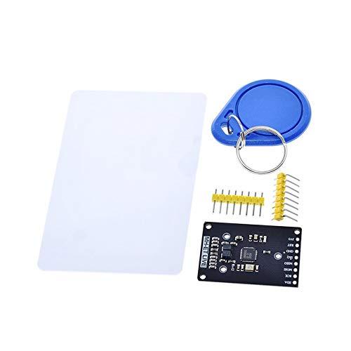 Yongenee Modul RC522 MFRC-522 RDM6300 Kits S50 13.56 MHz 125kHz 6cm mit Tags SPI Write & Lesen für for Arduino 2560 Werkzeug (Color : Mini RC522)