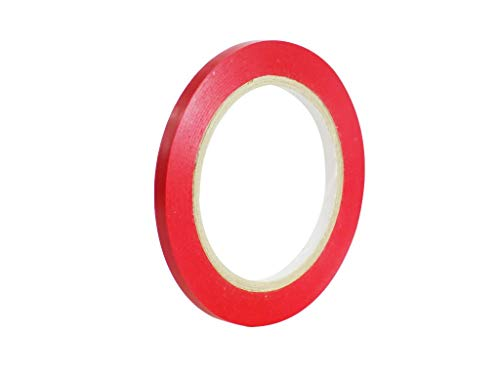 Tape Brothers Vinyl Marking Tape 1' x 36 yards several colors to choose from, Red