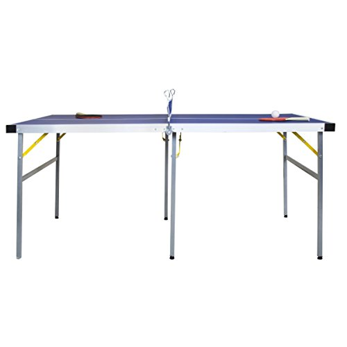 Charles Bentley Junior 1/2 Folding Table Tennis Table 5ft Equipment Included