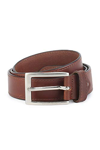Peter England Men's Belt (RL31894050_Brown_Large)