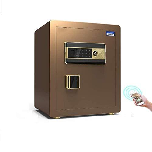 ZBM - ZBM Safe, Kleiner Haushalt 35 / 45cm Büro Fingerabdruck Passwort WIFIT Safe Nachtschränkchen All Stahl-Anti-Diebstahl-mini Unsichtbaren Safe Safe Sicherheitsbox