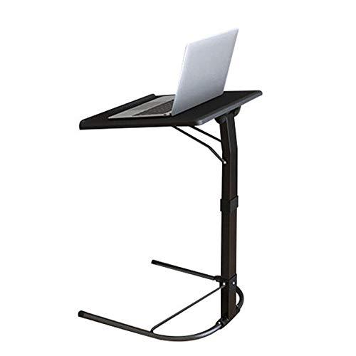 GEVJ U-vorm Plastic PC-tafel Computerbureau Leren bank Laptop Bedtafels kunnen 20 kg dragen Verstelbare studeerkamer Board-desks