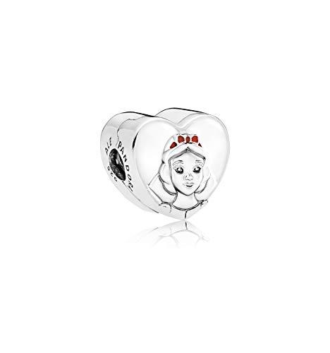 PANDORA Disney Snow White Portrait Sterling Silver Charm - 797165ENMX