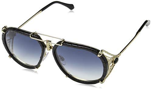 Roberto Cavalli Unisex-Erwachsene RC1046 32W 57 Brillengestelle, Gold (ORO\\\\Blu Grand), 57.0
