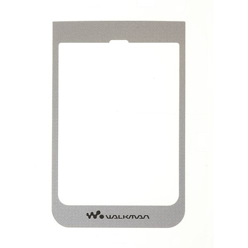Sony Ericsson W380i Main Window Label Silber, silver