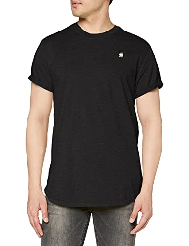 G-STAR RAW Mens D16396 T-Shirt, dk Black Htr C372-7293, XL