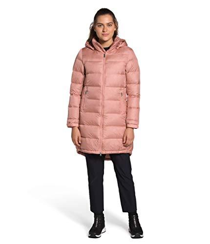 The North Face Damen Metropolis Isolierter Parka III - langer Wintermantel, Pink Clay, L