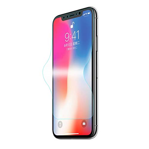 un known For iPhone X 0.1mm TPU+TPE+PET Material 3D Full Screen Explosion-proof Soft Screen Protector Water Condensate Film Accessory Same Parts From Original Factory