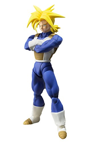 Bandai Tamashii Nations BTN03800-9 - Dragonball Z S.H. Figuarts Super Saiyajin Trunks Actionfigur, 14 cm