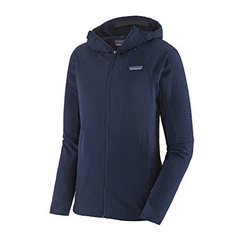 Patagonia Damen Sweatshirt W's R1 Techface Hoody M Klassisch Marineblau