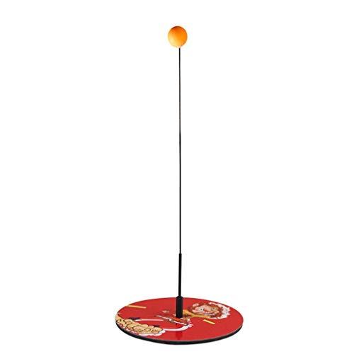 BBGSFDC Mesa de Ping Pong Trainer con elástico Suave del Eje, Movable Ping-Pong Bolas de paletas, Juguete del Deporte for de Interior Juegos al Aire Libre Mesa de Ping Pong Juego