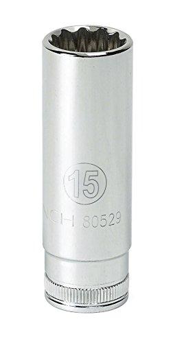 GEARWRENCH 3/8' Drive Deep Metric Socket 7mm, 6 Point - 80389