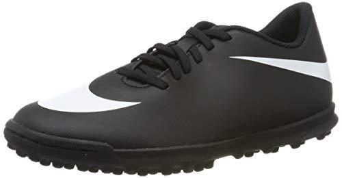 Nike Bravata II TF, Scarpe da Calcetto Indoor Uomo, Nero (Black/White/Black 001), 39 EU