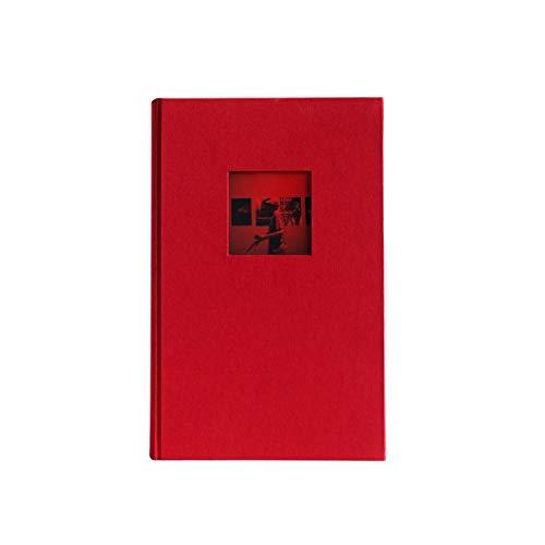 Kolo Hudson 3up Photo Album, Holds 300 4x6 Photos, Red
