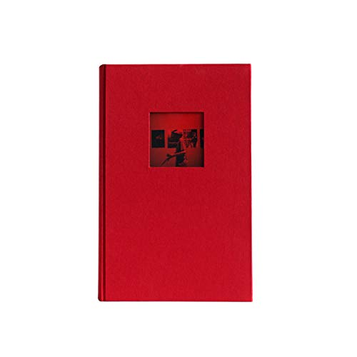 Kolo Hudson 3up Photo Album, Holds 300 4x6 Photos, Red
