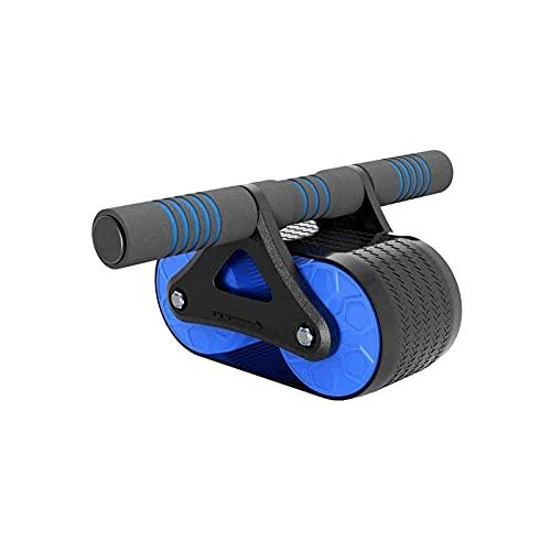 WGLL 腹筋ローラー、膝マットギヤとabトレーナーの筋肉のフィットネス機械運動器具のためのabコアトレーニングホームジムのトレーニング
