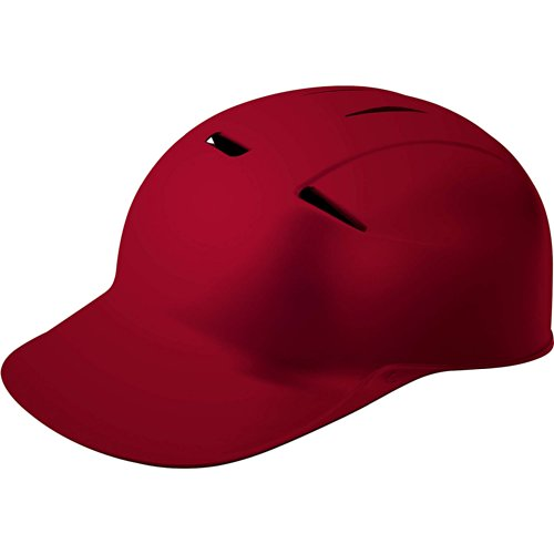 Easton CCX Grip Catcher/Coach Skull Cap - Maroon Maroon/Helmet 7 1/4
