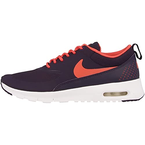Nike AIR MAX THEA (GS) girls running-shoes 814444-503_7Y - PURPLE DYNASTY/EMBER GLOW-WHITE
