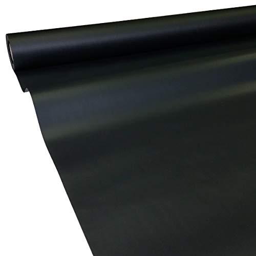 JUNOPAX 60041454 Papiertischdecke 50m x 1,15m schwarz nass- und wischfest