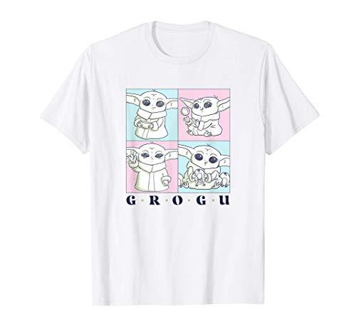 Star Wars: The Mandalorian Grogu Cute Pastel Box Up Camiseta