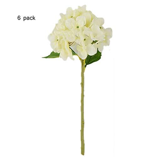 Réaliste Faux Fleurs sauvages W verdure Jaune Artificielle Meadow Flower Bunch
