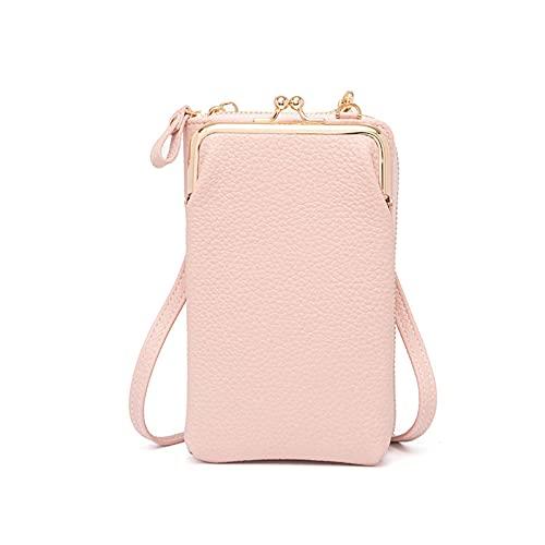 vokkrv Borsa Porta Cellulare da Donna Messenger Bag In Tinta Unita Borse a spalla donna grande borsa in velluto a coste donna borsa casual shopper donna