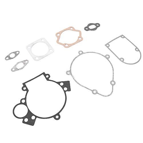 Hlyjoon 1 Satz 6-teilige Dichtungen Motorisiertes Fahrrad, Motorisierter Fahrradmotor Metalldichtungen Kit Fahrradersatzzubehör Passend für 80ccm Motorräder