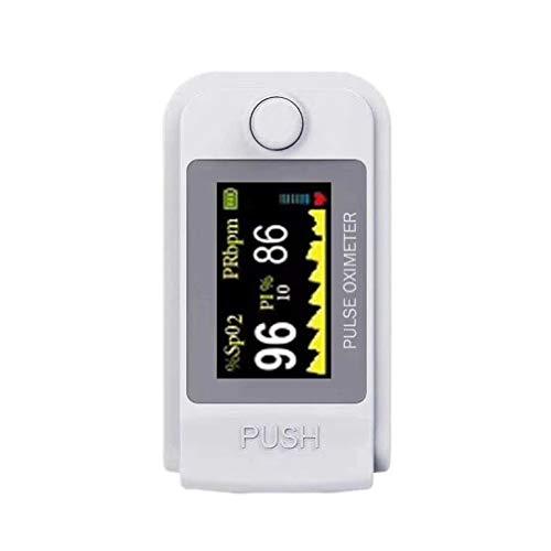 Pulsoximeter, Fingerpulsoximeter Bluetooth Messung Sauerstoffsättigung, Finger-Saturenmesser Sauerstoffsättigung, Tragbarer Digitales Puls-Messer Display Fitness für Erwachsene und Kinder (1 Sätze)
