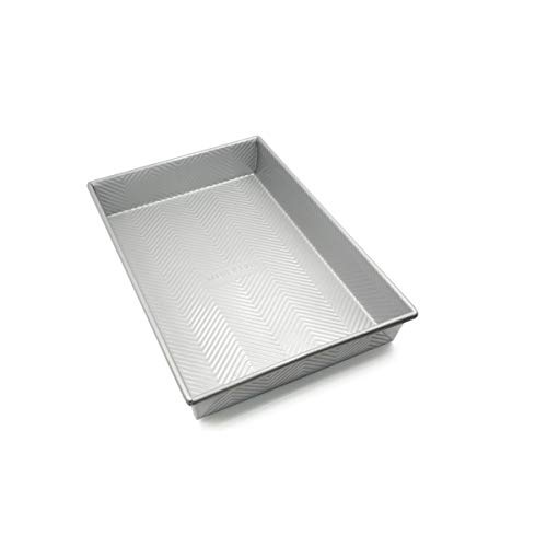 WYHA Household Non-stick Rectangular Baking Sheet, Wave Pattern, Carbon Steel + Huafu Non-stick Coating (Edition : Without cowl)