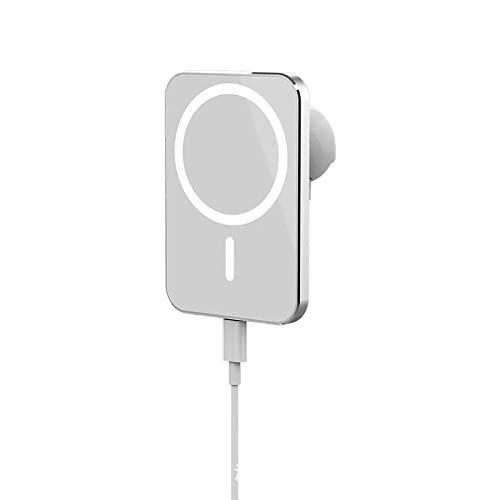 sgoseye Kabellose KFZ-Handyhalterung, magnetische Handyhalterung, [2020 Upgrade] Lüftungsschlitz-Handyhalterung, [Starke Magnete] iPhone-Autohalterung für iPhone 12 Mini/Pro/Max