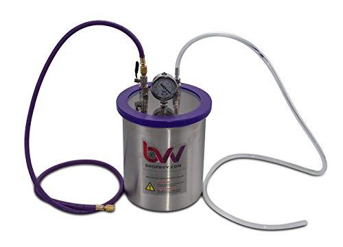 BVV 1.5 Gallon Resin Trap Vacuum Chamber