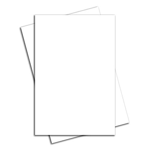 "VIBE INK Bundle of Large Blank White Yard or Lawn Sign Boards 24"" x 36"" Corrugated Plastic Poster - Waterproof, Made in The USA, Print-Ready (4)"