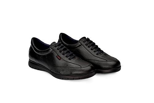 Oneflex Jules Negro - Zapatos cómodos de Hombre- Livianos y Antideslizantes - Talla 43