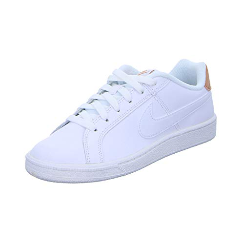 Nike Court Royale, Gymnastics Shoe Mujer, Blanco/Oro Rosa, 37.5 EU