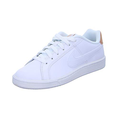 Nike Damen Court Royale Gymnastikschuhe, Mehrfarbig White White Rose Gold 116, 37.5 EU